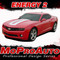 "2014 - 2015 ENERGY 2 : Chevy Camaro ""SEMA"" Style Hood and Trunk Stripes (Fits RS, LS, LT V6 Models) - Promo Photos"