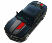 "2014 - 2015 Chevy Camaro Factory OEM Style ""45th Anniversary"" Racing and Rally Stripes Graphic Kit! Engineered specifically for the new Camaro RS Model, pre-designed and ready to install!"