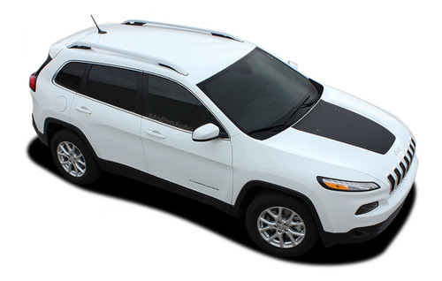 2013, 2014, 2015, 2016, 2017, 2018, 2019, 2020, 2021 Jeep Cherokee T-HAWK Vinyl Graphics Kit! Engineered specifically for the new Jeep Cherokee, this kit will give you a factory OEM upgrade look at a discount price! Pre-trimmed sections ready to install! Fits Jeep Hoods . . .