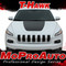 T-HAWK : 2013 2014 2015 2016 2017 2018 2019 Jeep Cherokee Hood Vinyl Graphics Decal Stripe Kit - Customer Photos