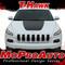 T-HAWK, Jeep Cherokee Hood Vinyl Graphics Decal Stripe Kit - Customer Photos