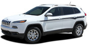 2013 2014 2015 2016 2017 2018 Jeep Cherokee CHIEF Vinyl Graphics Kit! Engineered specifically for the new Jeep Cherokee, this kit will give you a factory OEM upgrade look at a discount price! Pre-trimmed sections ready to install! Fits Jeep Cherokee Upper Body Line Side Rocker Panels . . .