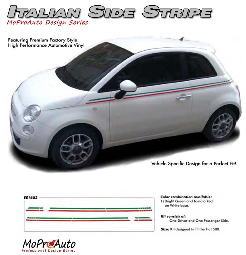 2011-2017 SE 5 ITALIAN STRIPE : Fiat 500 Abarth Vinyl