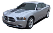 RECHARGE HOOD : Vinyl Graphics Kit for Dodge Charger - Factory OEM Style Dodge Charger 2011-2014 Vinyl Graphics, Stripes and Decal Kit! Hood Decals Included. Pre-cut pieces ready to install, using only Premium Cast 3M, Avery, or Ritrama Vinyl!