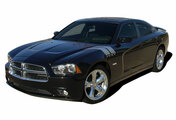 DOUBLE BAR : Vinyl Graphics Kit for Dodge Charger Factory OEM Hash Style Dodge Charger 2011-2014 Vinyl Graphics Kit! Pre-cut decal pieces ready to install, using only Premium Cast 3M, Avery, or Ritrama Vinyl!