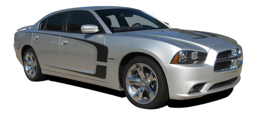 Factory OEM Style Dodge Charger Vinyl Graphics, Stripes and Decal Kit! Pre-cut pieces ready to install, using only Premium Cast 3M, Avery, or Ritrama Vinyl!