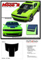 "Challenger HOOD : Factory OEM Style Vinyl Racing Stripes for 2015 2016 2017 2018 2019 Dodge Challenger! Factory ""OEM Style"" Solid Racing Hood Stripes, Graphics, and Decal Set for the Dodge Challenger! Ready to install . . . A fantastic customization with graphics that fit, using only Premium Cast 3M, Avery, or Ritrama Vinyl!"