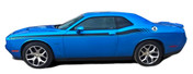 "Challenger DUAL 2 : Vinyl Graphics and Stripe Kit fits 2011, 2012, 2013, 2014, 2015, 2016, 2017, 2018, 2019, 2020 Dodge Challenger!  - DUAL 2 ""OEM"" Style Graphic, Decal and Stripe Package for the New Dodge Challenger! RT Decals Included! Ready to install . . . A fantastic customization that fits, using only Premium Cast 3M, Avery, or Ritrama Vinyl!"