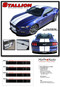 "STALLION : Ford Mustang Lemans Style Racing and Rally Stripes Vinyl Graphics Kit! * NEW Vinyl Graphics Kit for the 2015 2016 2017 Ford Mustang! Factory Style Racing Stripes and Rally Kit, featuring Premium Grade Vinyl. The ""look"" without the factory cost! Update your New Mustang today and start heads turning!"