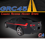 2010-2015 Chevy Camaro Reverse Hockey Stripe Kit