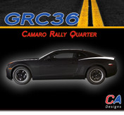 2010-2015 Chevy Camaro Rally Quarter Vinyl Stripe Kit (M-GRC36)