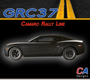 2010-2015 Chevy Camaro Rally Line Vinyl Stripe Kit (M-GRC37)