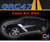2010-2015 Chevy Camaro Split Vinyl Stripe Kit (M-GRC47)