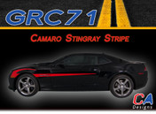 2014-2015 Chevy Camaro Stingray Vinyl Stripe Kit (M-GRC71)