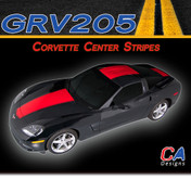 2005-2013 Chevy Corvette Center Racing Vinyl Stripe Kit (M-GRV205)