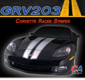 2005-2013 Chevy Corvette Racer Vinyl Stripe Kit (M-GRV203)