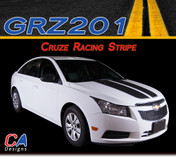 2011-2015 Chevy Cruze Racing Vinyl Stripe Kit (M-GRZ201)