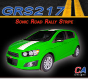 2012-2015 Chevy Sonic Road Rally Vinyl Stripe Kit (M-GRS217)