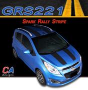 2013-2015 Chevy Spark Rally Vinyl Stripe Kit (M-GRS221)