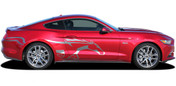 2015 2016 2017 2018 2019 2020 STEED : Ford Mustang Pony Side Horse Vinyl Graphic Stripe Decals * NEW Ford Mustang Graphic Kit! Give a modern muscle car look to your new Mustang that will set your ride apart! Professional Style 3M Vinyl Graphics Kit - Pre-Trimmed and Designed, Ready to Install! For Automotive Restylers and Dealers!