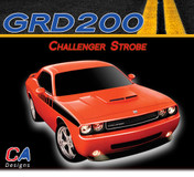 2008-2010 Dodge Challenger Strobe Stripe Kit (M-GRD200)