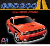 2008-2010 Dodge Challenger Strobe Stripe Kit (M-GRD200)