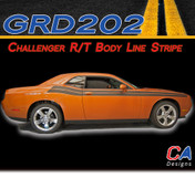 2008-2010 Dodge Challenger R/T Body Line Stripe Kit (M-GRD202-353)
