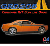 2011-2014 Dodge Challenger R/T Body Line Stripe Kit (M-GRD206)