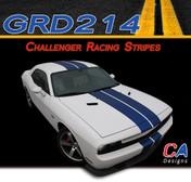 2011-2014 Dodge Challenger Racing Stripes Vinyl Stripe Kit (M-GRD214)