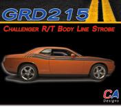 2011-2014 Dodge Challenger R/T Body Line Strobe Vinyl Stripe Kit (M-GRD215)