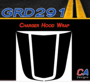 2006-2010 Dodge Charger Wrap Hood Vinyl Stripe Kit (M-GRD291)
