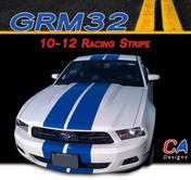 2010-2012 Ford Mustang Racing Stripe Vinyl Stripe Kit (M-GRM32)