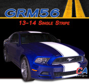 2013-2014 Ford Mustang Single Vinyl Stripe Kit (M-GRM56)