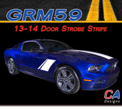 2013-2014 Ford Mustang Door Strobe Vinyl Stripe Kit ( M-GRM59)