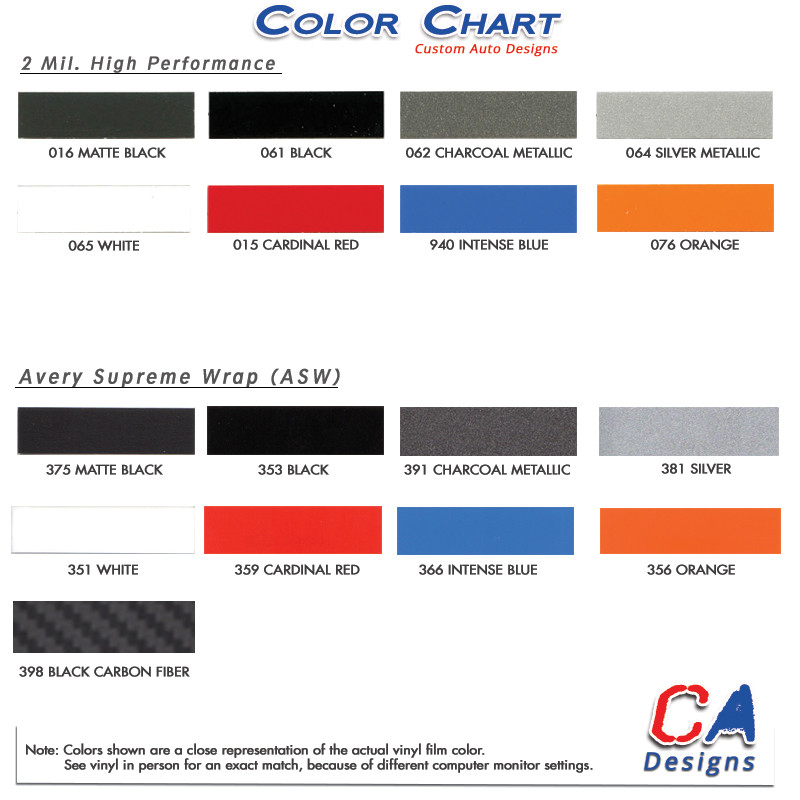 2015 Ford Explorer Color Chart >> 2011 2015 Ford Explorer Mudslinger Hood Vinyl Stripe Kit Moproauto