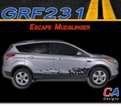 2011-2015 Ford Escape Mudslinger Vinyl Stripe Kit (M-GRF231)
