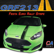2014-2015 Ford Fiesta Euro Rally Vinyl Stripe Kit (M-GRF213)