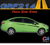 2014-2015 Ford Fiesta Edge Vinyl Stripe Kit (M-GRF214)