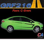 2014-2015 Ford Fiesta C-Stripe Vinyl Stripe Kit (M-GRF216)