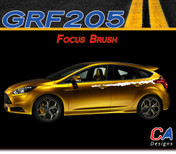 2012-2013 Ford Focus Brush Vinyl Stripe Kit (M-GRF205)