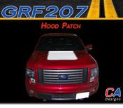 2009-2014 Ford F-150 Hood Patch Vinyl Stripe Kit (M-GRF207)