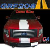 2009-2014 Ford F-150 Center Racer Vinyl Stripe Kit (M-GRF208)
