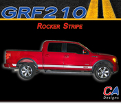 2009-2014 Ford F-150 Rocker Stripe Vinyl Stripe Kit (M-GRF210)