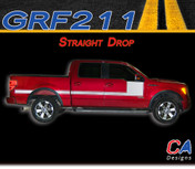 2009-2014 Ford F-150 Straight Drop Stripe Vinyl Stripe Kit (M-GRF211)