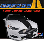 2013-2015 Ford Fusion Complete Center Racing Vinyl Stripe Kit (M-GRF225)