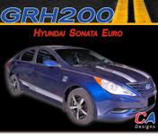 2009-2014 Hyundai Sonata Euro Vinyl Stripe Kit (M-GRH200)