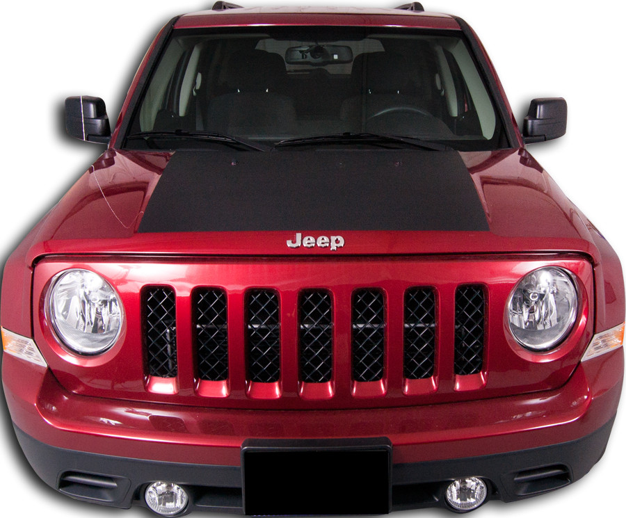 2007 2015 Jeep Patriot Center Hood Vinyl Stripe Kit