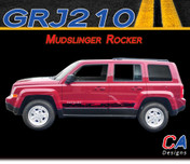 2007-2015 Jeep Patriot Mudslinger Rocker Vinyl Stripe Kit (M-GRJ210)