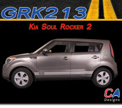 2010-2015 Kia Soul Rocker 2 Vinyl Racing Stripe Kit (M-GRK213)