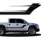 TURBULANCE : Automotive Vinyl Graphics and Decals Kit - Shown on FORD F-150 (M-915)